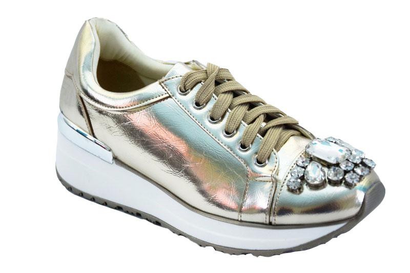 Кроссовки-сникерсы TS02 золото